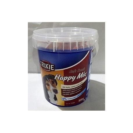 soft snack happy mix 500gr para perros