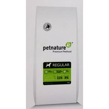 REGULAR perro adulto premium petfood PETNATURE